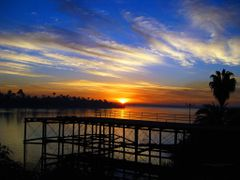 1-Sunrise-from. Corniche El Nile Street . Asyut-by Eslam Khaled, by <b>Eslam khaled</b> ( a Panoramio image )