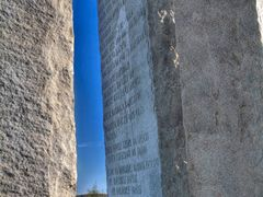 Georgia Guidestones by <b>Hank Myers</b> ( a Panoramio image )