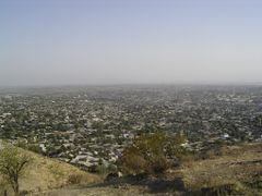 View to Osh from the Suleiman mountain by <b>DXT 1</b> ( a Panoramio image )