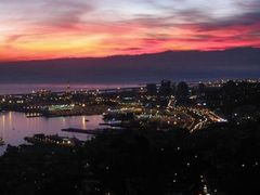 Night View of Genoa (Genova) - Italy by <b>Michele Masnata</b> ( a Panoramio image )