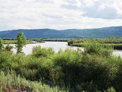 RMCh04_27 - miedzy Nauszkami, a Suche Bator w Mongolii, rzeka Se by <b>Michal Tranda (trandus)</b> ( a Panoramio image )