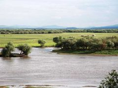 RMCh04_31 - Mongoolia, przed Suche Bator, rzeka Selenga, pierwsz by <b>Michal Tranda (trandus)</b> ( a Panoramio image )