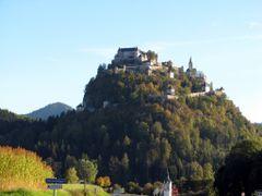 Hochosterwitz by <b>dziwnow</b> ( a Panoramio image )