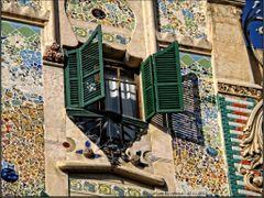 """Palma de Mallorca - Edificio modernista """"Can Forteza-Rey"""" - (Art by <b>Rodema</b> ( a Panoramio image )"""