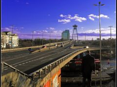 Bratislava, Novy Most by <b>&ri.co</b> ( a Panoramio image )