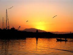 Coucher de soleil a Bou Haroun by <b>Nabil Benmoussa</b> ( a Panoramio image )