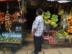 Shop owner contemplating what to charge us by <b>baba49</b> ( a Panoramio image )