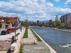 Kej Mike Paligorica i Nisava - pogled sa Kamenog mosta (zidanog  by <b>tosa43</b> ( a Panoramio image )