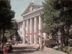 Душанбе.Медицинский институт им.Абу Али Ибн Сины. Фото Б.Гарбуза by <b>Rumlin</b> ( a Panoramio image )