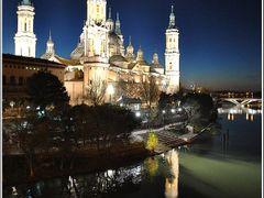 Basilica de Nuestra Senora del Pilar de Zaragoza by <b>Mircea_RAICU</b> ( a Panoramio image )