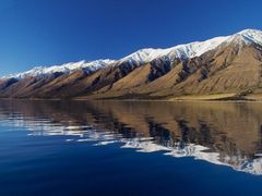 Lake Hawea - Hunter End by <b>PeterBray</b> ( a Panoramio image )