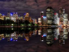 Reflections of The River City by <b>Rebecca Capel</b> ( a Panoramio image )