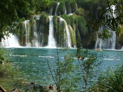 Krka Waterfalls. Водопады реки Крка  by <b>Buts_YV</b> ( a Panoramio image )