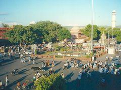 Centro de Jaipur. Rajastan. India. by <b>Maria Fernando</b> ( a Panoramio image )