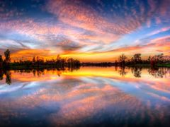 Impressive Sunset Panorama with Colorful Reflections - Jacobson  by <b>Kalin Ranchev</b> ( a Panoramio image )