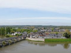 "Loire river from Chateau d""Amboise ramparts by <b>BritPlom</b> ( a Panoramio image )"