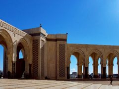 Morocco - Casablanca, Hassan II Mosque by <b>Nenad Obr</b> ( a Panoramio image )