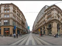 Aleksanterinkatu, Helsinki by <b>Y&O Lyangasov</b> ( a Panoramio image )