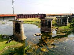 Bridge on Sai  by <b>Jawed Hasan</b> ( a Panoramio image )