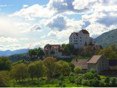 Dedicated to Lomno! Schloss / Castle Wildegg by <b>adin</b> ( a Panoramio image )