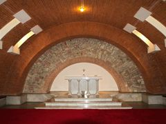 Krypta kostela Nejsvetejsiho Srdce Pane / The crypt in the Churc by <b>Premysl</b> ( a Panoramio image )