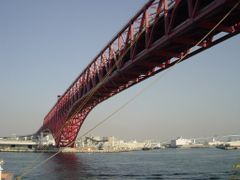 Osaka harbour,  sightseeing  1.0771 by <b>daifuku</b> ( a Panoramio image )