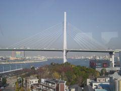 Osaka harbour,  view from big wheel  1.0802 by <b>daifuku</b> ( a Panoramio image )