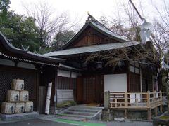 Osaka, Suita-Shi ,  Izanagijinjya  (Izanagi-shrine) 2.1658 by <b>daifuku</b> ( a Panoramio image )