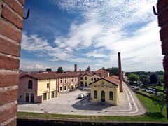 Soncino, panorama dalla Rocca Sforzesca - Cremona by <b>Giannifmi</b> ( a Panoramio image )