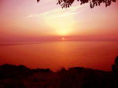 Sunset - El Chatt ? Ouled Attia by <b>Abdellatif B?</b> ( a Panoramio image )