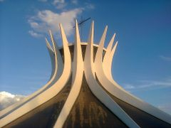 Cathedral of Brasilia, by Niemeyer by <b>RNLatvian</b> ( a Panoramio image )