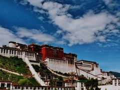 Lhasa Potola Palast by <b>Henu1</b> ( a Panoramio image )
