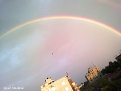 Urban Rainbow over Comilla Skyline by <b>Faysal Bin Darul</b> ( a Panoramio image )