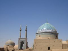 Jameh Mosque, Yazd, Iran by <b>silwi</b> ( a Panoramio image )