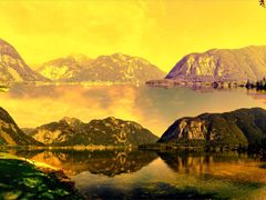 Osterreich Panoramablick . . .  Hallstattersee Landesstrasse, 48 by <b>©  Imre Lakat</b> ( a Panoramio image )