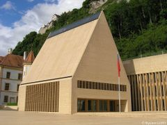 Parliament of Liechtenstein by <b>maximeo</b> ( a Panoramio image )