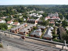 West Hornsby and the construction of the dedicated freight line by <b>Ian Stehbens</b> ( a Panoramio image )