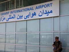 Mazar-e-Sharif International Airport by <b>Pamirjan</b> ( a Panoramio image )