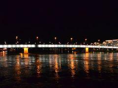 Nacht an der Donau in Linz by <b>PeSchn</b> ( a Panoramio image )