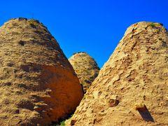 Harran Evleri (Kubbe Evler) Harran_Sanl?urfa/Turkiye TR-59 by <b>H.Ibrahim Uzmezoglu</b> ( a Panoramio image )