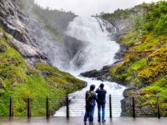 Kjosfoss by <b>Farlang</b> ( a Panoramio image )