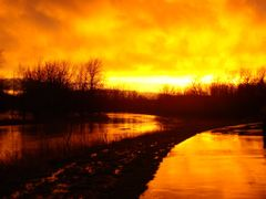 After the Storm: 3/31/08 by <b>psprin1</b> ( a Panoramio image )