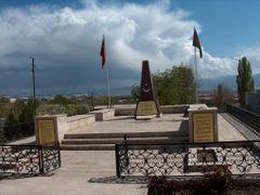 NAHCIVAN - SEHIT OLAN TURK ASKERLERI ADINA YAPTIRILMIS ANIT 02 by <b>Ahmet Ozdogan</b> ( a Panoramio image )