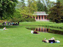 """Enjoy the Danish Cosiness II"" - Frederiksberg Garden, Copenhage by <b>Jan Sognnes</b> ( a Panoramio image )"