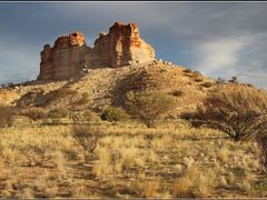 Sunset - Castle Rock by <b>TropicFox</b> ( a Panoramio image )