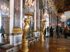 The Versailles palace. Mirror Gallery. Версальский дворец. Зерка by <b>Buts_YV</b> ( a Panoramio image )