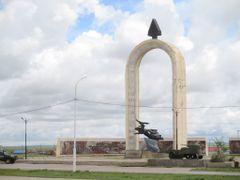 Monument Slag om Khalkhin Gol 1939 by <b>HenkVDM</b> ( a Panoramio image )