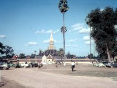 Wat Tat Luang 1970 by <b>Steffen R?hner</b> ( a Panoramio image )