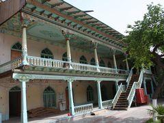 Uzbekistan,Margilan, madrassa Said-Ahmad-Khodja by <b>branch gian</b> ( a Panoramio image )
