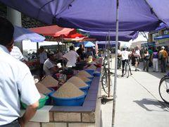 Uzbekistan,Margilan, bazar (angolo del riso) by <b>branch gian</b> ( a Panoramio image )